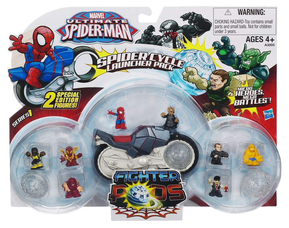 New Ultimate Spider Man Toys For 2013
