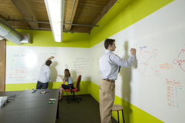 Ideapaint Clear Turns Surfaces Into Whiteboards Even If