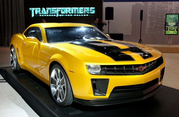 TRANSFORMERS BUMBLEBEE HD.