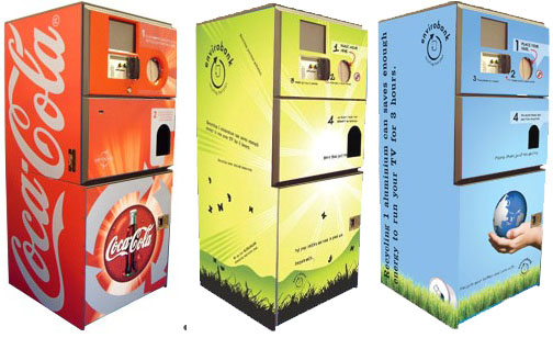 recycle vending machine