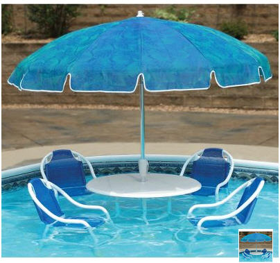Swimming Pool Bistro | CoolThings.com | Cool Gadgets, Gifts & Stuff
