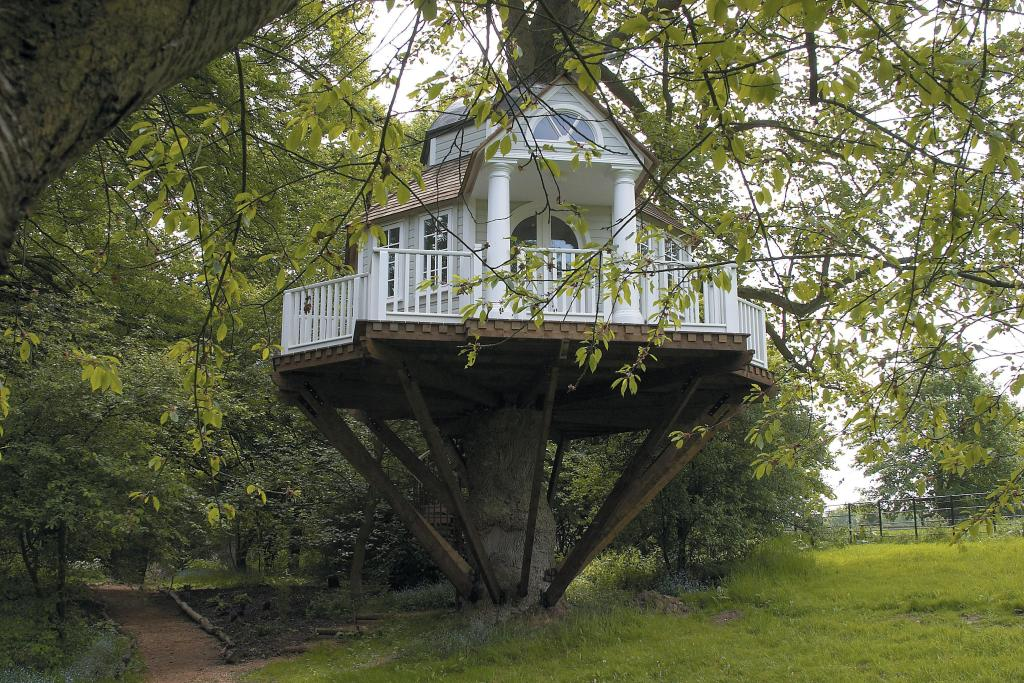 Do You Have A Treehouse In The Garden Gardening Forums