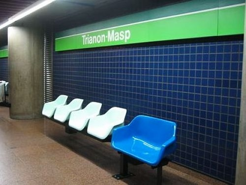 Special Chair For Fat People No Go For Sao Paulo Train Stations