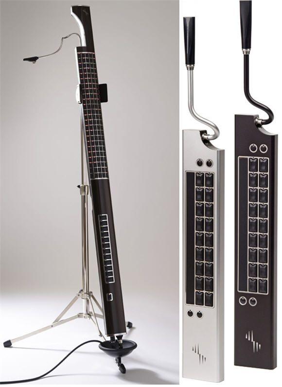 Electronic Musical Instruments : Eigenharp alpha makes your electronic musical instruments