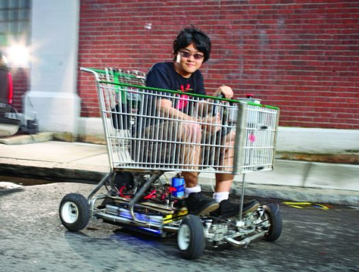 Can't Afford A Car? Steal That Shopping Cart And Turn It ...