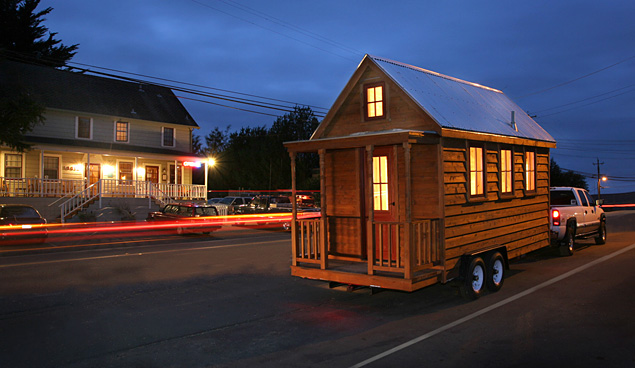 Tumbleweed Houses Let You Ditch The Trailer, Buy An Elegant Home And Stay  On The Road