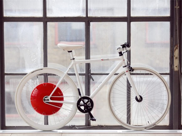 Copenhagen Wheel Makes Electric Bike Retrofitting Simple Adds
