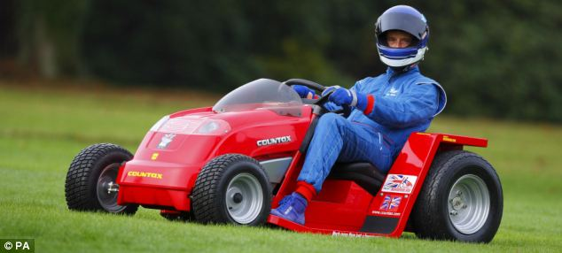 'It's fun': Hot rod lawn mowers compete at Winterport