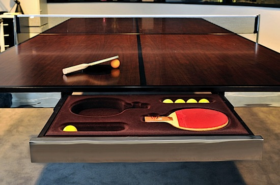 TableTennis Brings Ping Pong To The Boardroom - Table tennis conference table
