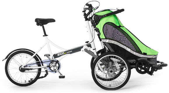 Zigo Leader X2 Gets You A Baby Buggy And A Bike, Lets Them Couple ...