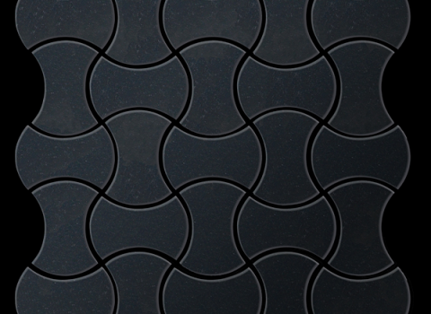Kitchen Tiles Hull karim rashid's alloy decorative metal tiles will make your kitchen