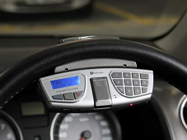 Nice Brando Skips The Dashboard, Puts An In Car Bluetooth System On Your  Steering Wheel