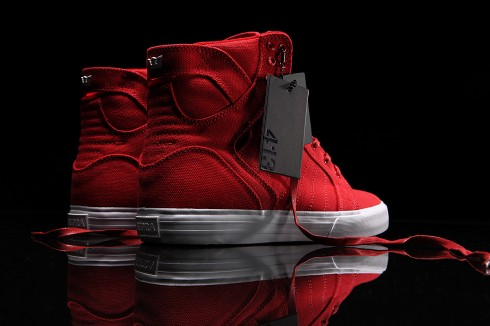 ... Your Valentine Kicks On With The Supra 413 Edition Skytop Heartbreaker
