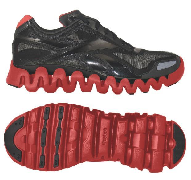 nike running shoes zig zag