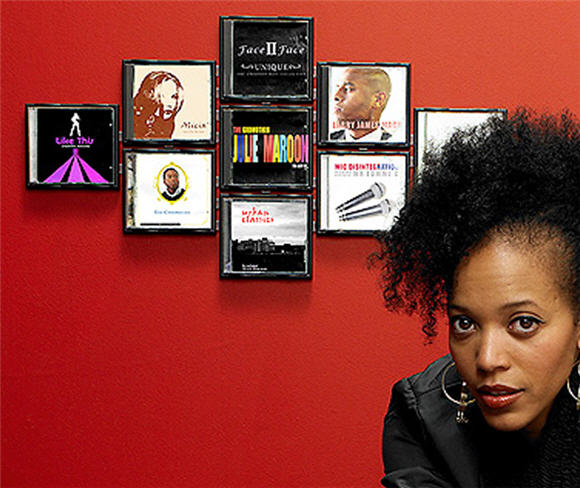 Cd Wall Tiles Let You Decorate The Wall With Album Cover Art