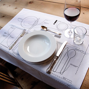 I have no idea whatu0027s supposed to go where on the dining table. As long as the food is on my plate and not anywhere else Iu0027m set. & Place Setting Placemats Are Here To Save The Day