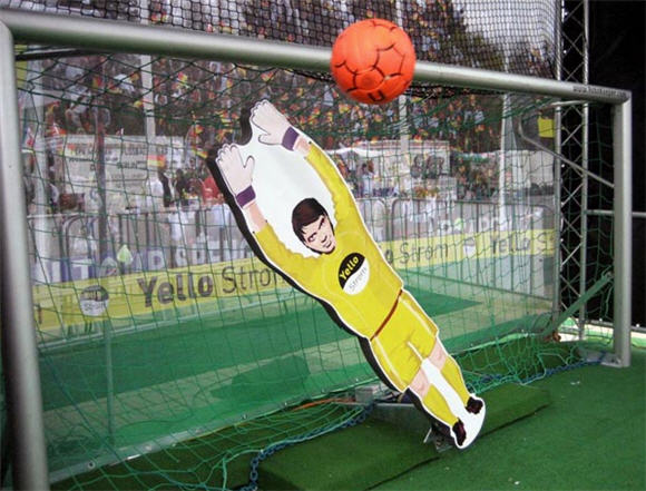 Image result for cardboard goalie