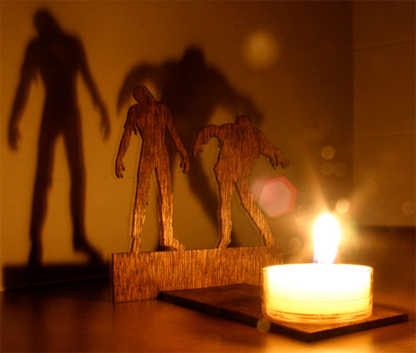zombie shadow cast puts the living dead in your room. Black Bedroom Furniture Sets. Home Design Ideas