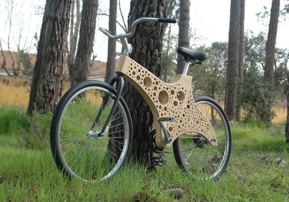 xylon bikes hand builds frames from timber - Wooden Bike Frame