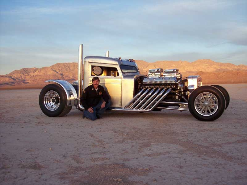 Hot rods and long haul trucks aren't a match made in heaven.