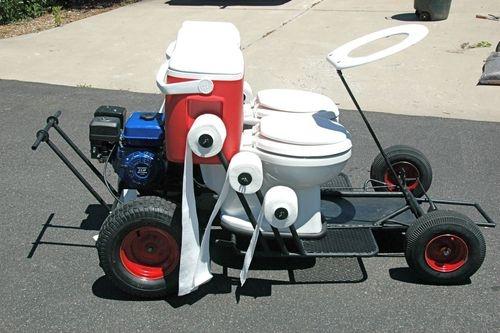 go kart frame. The Toilet Go-Kart is an
