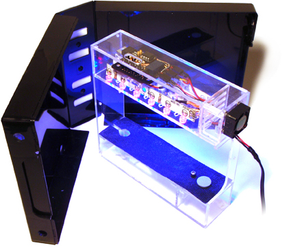 Grow a garden in your cubicle with the miniature labbox grower for Cool things for your cubicle