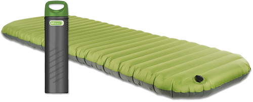 Aerobed Pakmat An Inflatable Mattress That Compacts Into