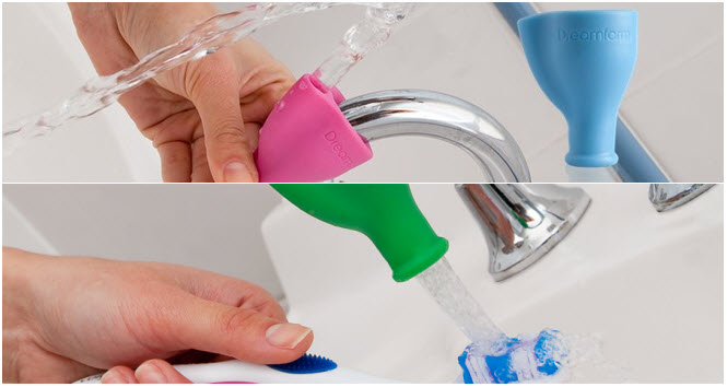 Tapi, A Rubber Fitting That Turns Your Faucet Into A Fountain