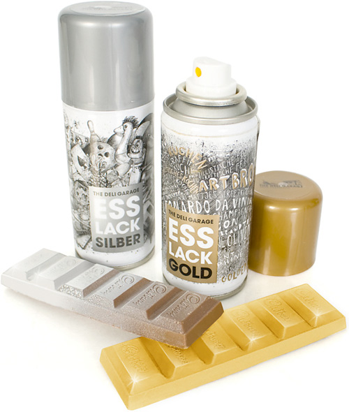 Edible Bling Spray Turns Your Food Into Gold And Silver Treats