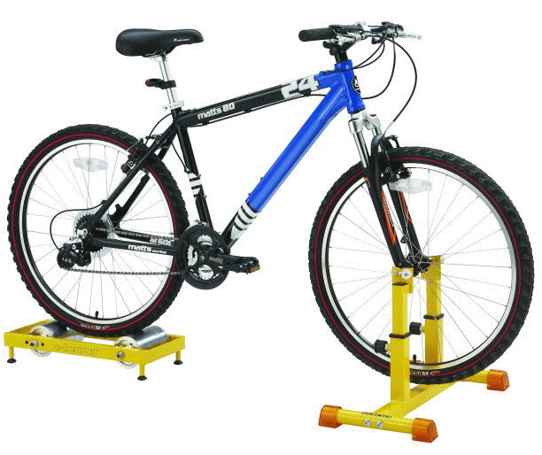 Etrainer Turns Regular Bicycles Into Stationary Bikes