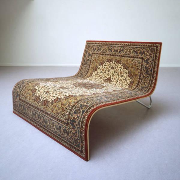 East Meets West, A Flying Carpet Sofa
