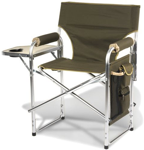 Heated Portable Chair Lets You Enjoy The Outdoors Without