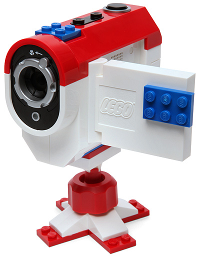 Lego Stop Motion Video Cam Is Dressed In Bricks