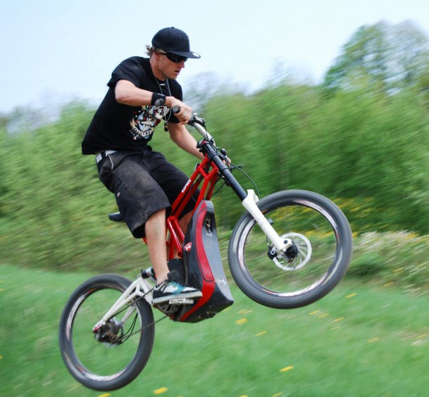 Espire Is An Electric Bike For Off Road Riding
