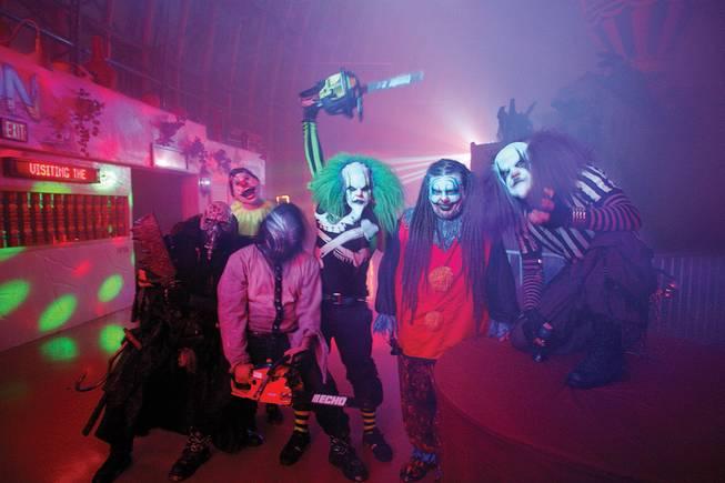 fright dome like disneyland for horror in vegas - Adventuredome Halloween
