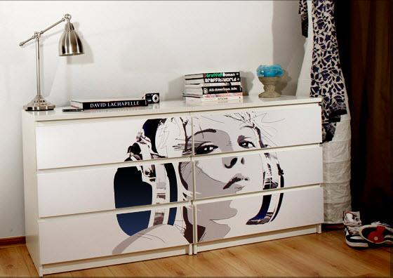 Mykea design pimps your ikea furniture - Stickers meubles ikea ...