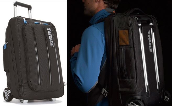 Thule's Hybrid Carry-On Can Double As A Backpack