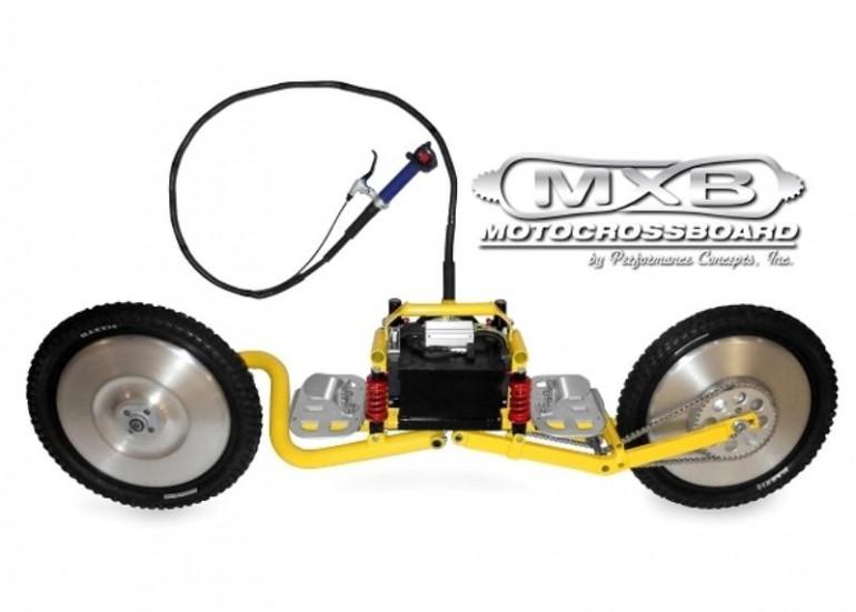 Mxb Shocker Is A Motorized Sport Board For The Off Road