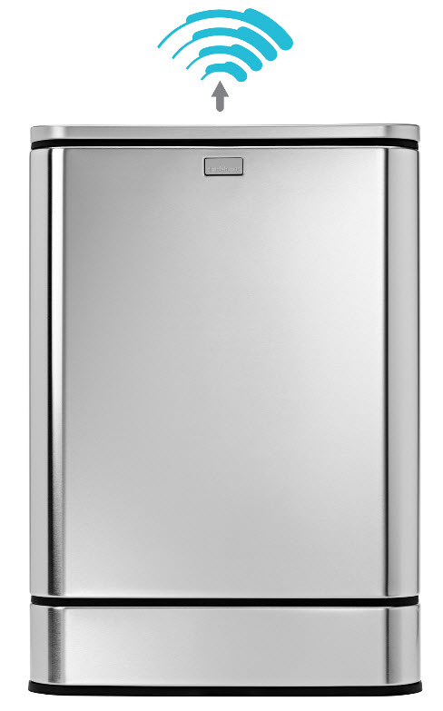 In Ready Mode  the Simplehuman Sensor Can focuses on the space directly  above the lid  which will open only when someone hovers above it. Simplehuman Sensor Trash Can Offers Multiple Modes Of Disposing