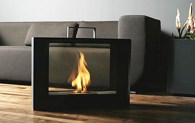 Conmoto Travelmate, A Fireplace In A Suitcase