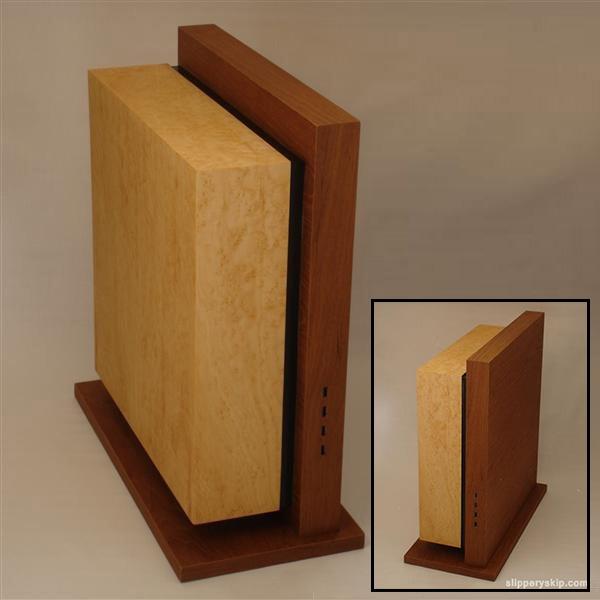 Level Twelve Case Mod Hides PC Under Sleek Wooden Boxes
