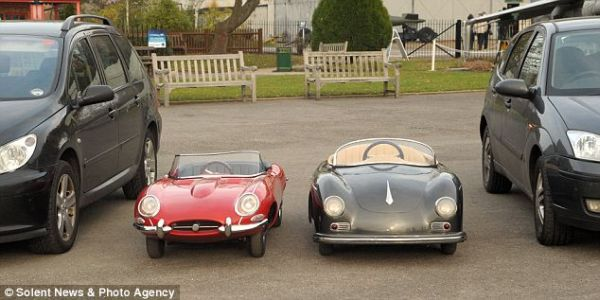 Pocket Classics Puts You On Miniature Porsches Bugattis