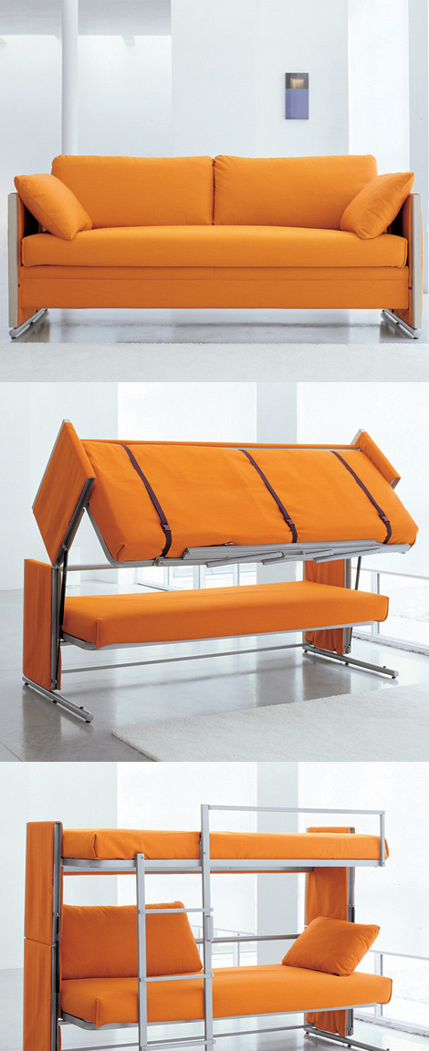 Doc Is A Sofa That Turns Into Bunk Bed
