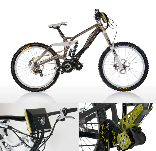 E Powered Downhill Kit Turns Your Bike Into Uphill Climbing Machine