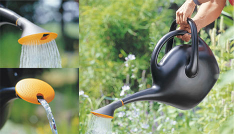 Fiskars EasyPour Uses A Slight Tweak To Make The Watering Can
