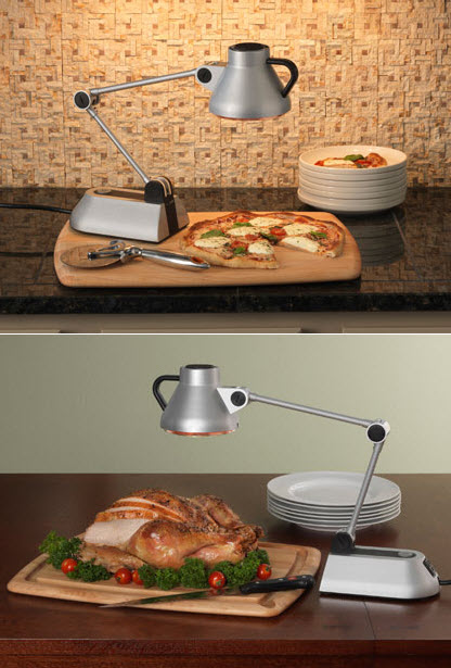 Bon Home Culinary Heat Lamp Keeps Food Warm Without Ruining It