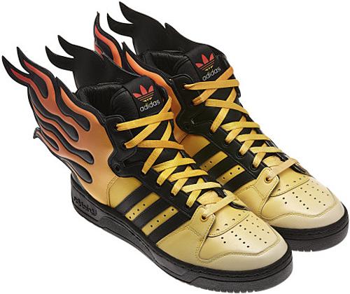 Shoes On Fire: Adidas Originals Jeremy Scott Flames