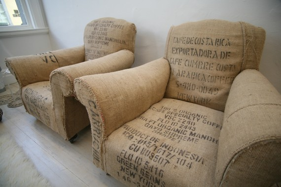 Cool Furniture Vintage Chairs Upholstered In Vintage Bean Bags