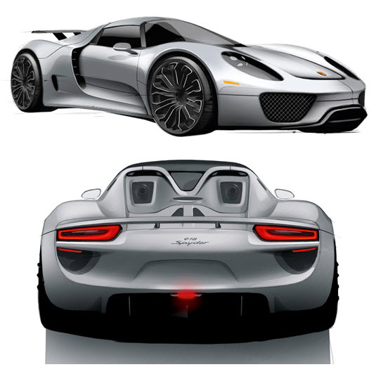 Capstone Cmt Supercar Pairs An Electric Motor With A