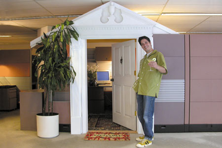 Build Yourself A Cubicle Mansion
